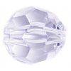 Acrylic Bead Facetted Round Shape 20mm Crystal